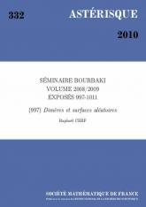 Exposé Bourbaki 997 : Dimères et surfaces aléatoires