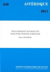 Fibrés harmoniques sauvages et$D$-modules sauvages avec structure de twisteur pure