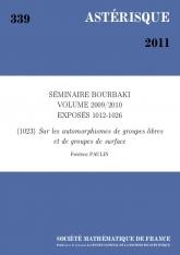 Exposé Bourbaki 1023 : Sur les automorphismes de groupes libres et de groupes de surface