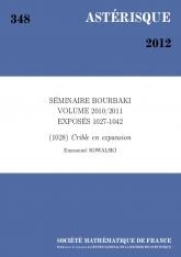 Exposé Bourbaki 1028 : Crible en expansion