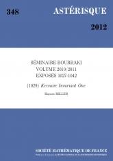 Exposé Bourbaki 1029 : L'invariant de Kervaire un d'après M.A. Hill, M. J. Hopkins et D. C. Ravenel