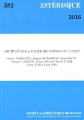 Arithmétique $p$-adique des formes de Hilbert