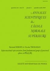 Représentations supra-maximales des groupes fondamentaux de sphères épointées dans $\text{PSL}(2,\mathbb R)$.
