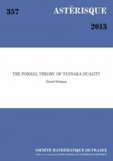 La théorie formelle de dualité tannakienne