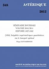 Exposé Bourbaki 1034 : Inégalités isopérimétriques quantitatives via le transport optimal d'après A. Figalli, F. Maggi et A. Pratelli
