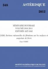 Exposé Bourbaki 1038 : Sections rationnelles de fibrations sur les surfaces et conjecture de Serre