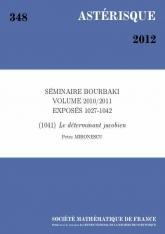 Exposé Bourbaki 1041 : Le déterminant jacobien d'après Brezis et Nguyen