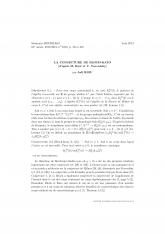 Exposé Bourbaki 10673 : La conjecture de Bloch-Kato d'après M. Rost et V. Voevodsky