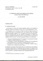 Exposé Bourbaki 1139 : La théorie de Hodge des bimodules de Soergel (d'après Soergel et Elias-Williamson)
