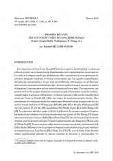 Exposé Bourbaki 1140 : Progrès récents sur les conjectures de Gan-Gross-Prasad (d'après Jacquet-Rallis, Waldspurger, W. Zhang, etc.)