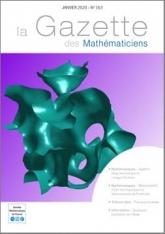 La Gazette des mathématiciens 163 (janvier 2020)