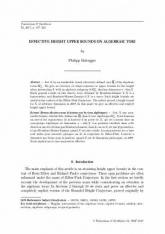 Bornes effectives pour la hauteur sur les tores algébriques