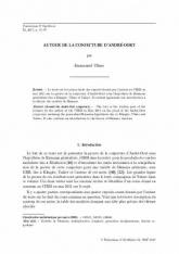 Autour de la conjecture d'André-Oort