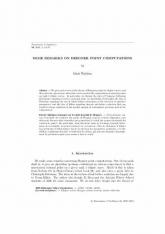 Quelques remarques sur le calcul des point de Heegner