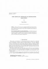 L'approche modulaire des équations diophantiennes