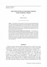 La structure des groupes résolubles sur des corps généraux