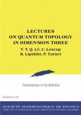 Topologie quantique en dimension trois