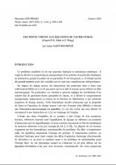 Exposé Bourbaki 1143 : Des points vortex aux équations de Navier-Stokes (d'après P.-E. Jabin et Z. Wang)