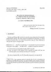 Exposé Bourbaki 1144 : Relations de Hodge-Riemann et combinatoire des matroïdes (d'après K. Adiprasito, J. Huh et E. Katz)