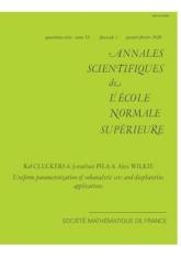 Paramétrisations uniformes d'ensembles sous-analytiques et applications diophantiennes