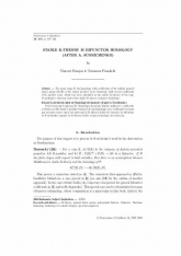 La K-théorie stable est l'homologie des foncteurs (d'après A.Scorichenko)
