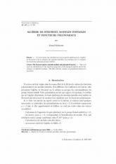 Algèbre de Steenrod, modules instables etfoncteurs polynomiaux