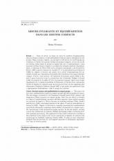 Mesure invariante et équirépartition danslesgroupes compacts