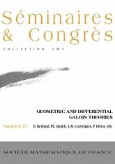 Théories de Galois géométrique et différentielle