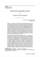 Changements de temps des flots nilpotents d'Heisenberg