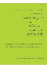Sur les bases stables K-théoriques de la résolution de Springer