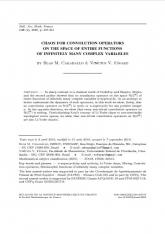 Chaos pour les opérateurs de convolution sur l'espace des fonctions entières en une infinité de variables complexes