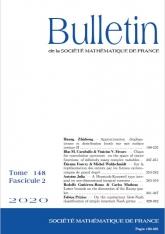 Bulletin de la SMF 148-2
