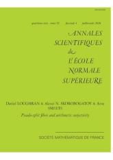 Fibres pseudo-déployées et surjectivité arithmétique