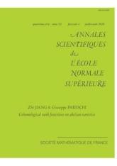 Fonctions rang cohomologiques sur les variétés abéliennes
