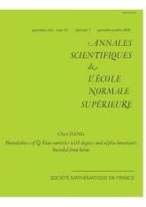 Bornitude des variétés de  $\mathbb{Q}$-Fano dont les degrés et les alpha-invariants sont bornés inférieurement