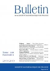 Bulletin de la SMF 148-4