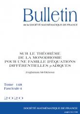 Sur le théorème de la monodromie pour une famille d'équations différentielles $p$-adiques