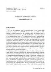 Exposé Bourbaki 1159 : Théories de Teichmüller de rang supérieur