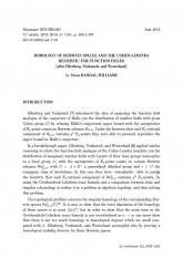 Exposé Bourbaki 1164 : Homologie des espaces de Hurwitz et l'heuristique de Cohen-Lenstra pour les corps de fonctions (d'après Ellenberg, Venkatesh et Westerland)