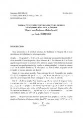 Exposé Bourbaki 1153 : Normalité asymptotique des vecteurs propres d'un graphe régulier aléatoire d'après Ágnes Backhausz et Balázs Szegedy