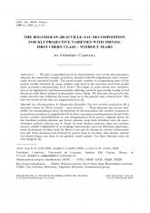 La décomposition de Bogomolov-Beauville-Yau des variétés projectives klt à première classe de Chern triviale - sans larmes
