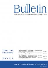 Bulletin de la SMF 149-2