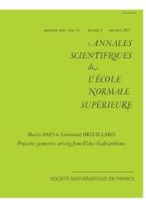 Géométries projectives associées aux problèmes de type Elekes-Szabó